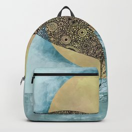 Sunset Whale Backpack