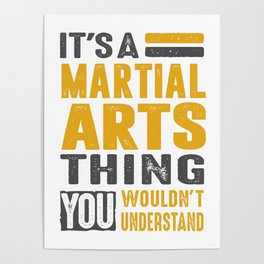 Martial Arts Thing Poster