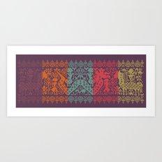 Cerita Raja II Art Print