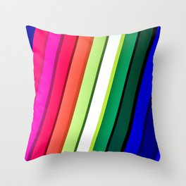mANCHESTER pRIDE 323 Throw Pillow