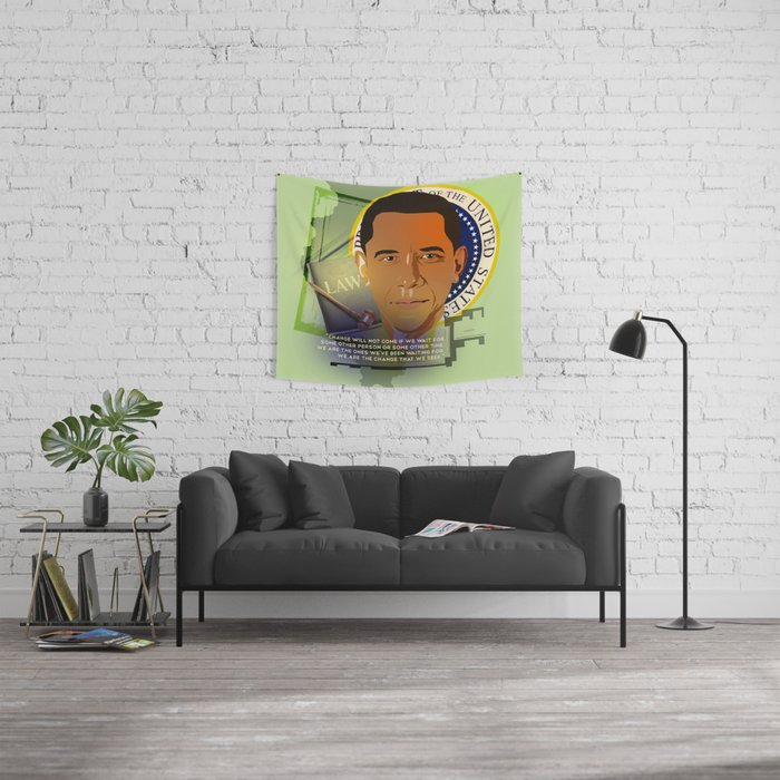 President Obama Wall Tapestry