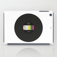 vinyl iPad Cases featuring Vinyl by Long Weekend