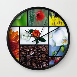 Kitchen picture - nature in the heart Wall Clock