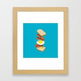 Bacon Sandwich Framed Art Print