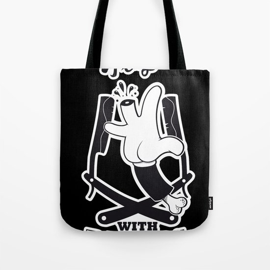 Never Play with Razors  Tote Bag