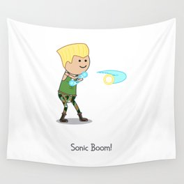 Sonic Boom! Wall Tapestry