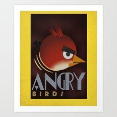 Carlu Spirit - Angry Birds Art Print