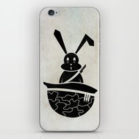 rabbits iPhone & iPod Skins featuring rabbits by gazonula