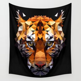 Pritty Tiger VIX Wall Tapestry