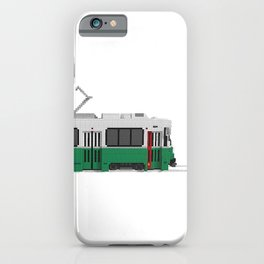 Boston Green Line Train iPhone Case