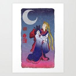 Sailormoon Art Print