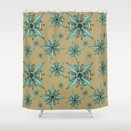 COMPASS Shower Curtain