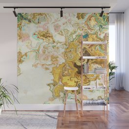 bathed in gold Wall Mural