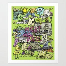 Noon Art Print