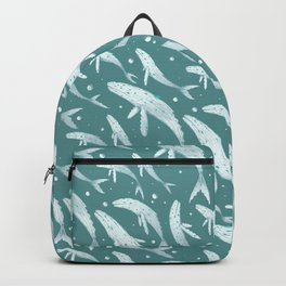 Diamond Whales Backpack