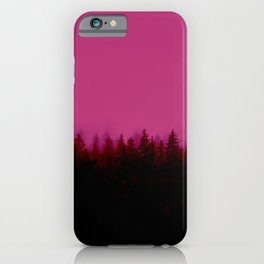 Alaskan Fog 0388 - Raspberry iPhone Case