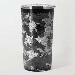 Aquilegia engraving Travel Mug