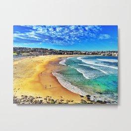 Bondi Beach, Sydney Australia Metal Print