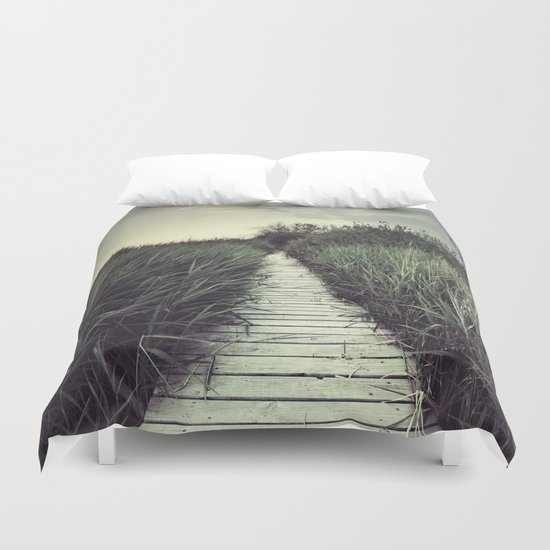 """My way..."" Duvet Cover"