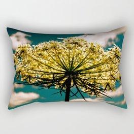 Under a Flower Sky Rectangular Pillow