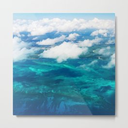 499 - Abstract Aerial Design Metal Print