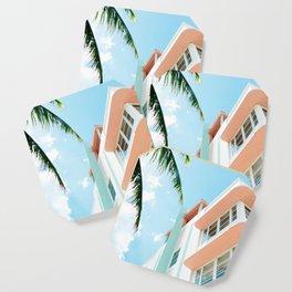 Miami Fresh Summer Day Coaster