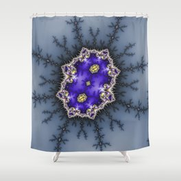 Fractal Abstract 39 Shower Curtain