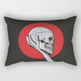 Skull Hamblet  Rectangular Pillow