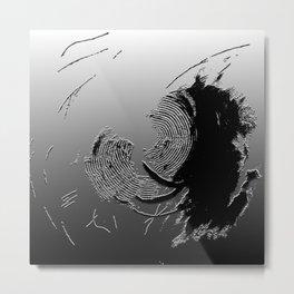 Shadow On The Wall I Metal Print