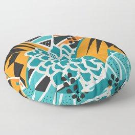 Leaf tropicana Floor Pillow