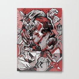 Nietzsche Metal Print