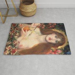 Venus Verticordia Rossetti Rug