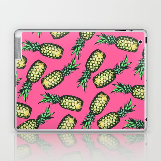 Pineapple Pattern Laptop & iPad Skin