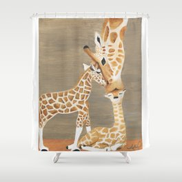 Linked by Love Shower Curtain