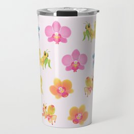 Orchid mantis Travel Mug