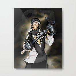 Sidney Crosby Metal Print