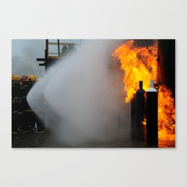 ¡IN FIRE! Canvas Print