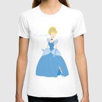 cinderella T-shirts featuring Cinderella  by Fraopic