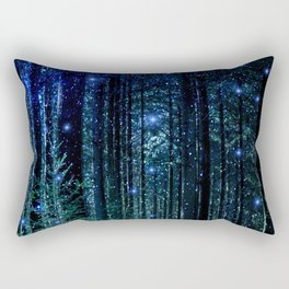 Magical Woodland Rectangular Pillow