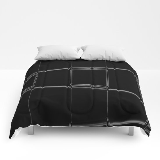 Minimalist Black & White Comforters