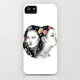 Floral Lindsey W. iPhone Case