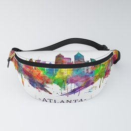 Atlanta Georgia Skyline Fanny Pack