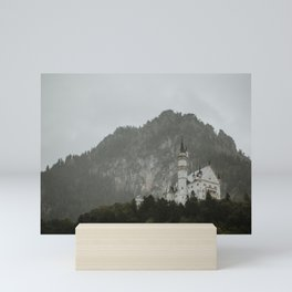 Castle on the hill; Schloss Neuschwanstein | Colourful Travel Photography | Schwangau, Germany (Europe) Art Print Mini Art Print