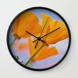 Papaver Wall Clock