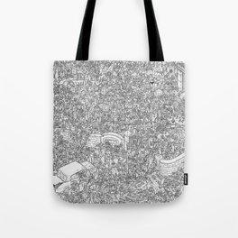 Outbreak! Tote Bag