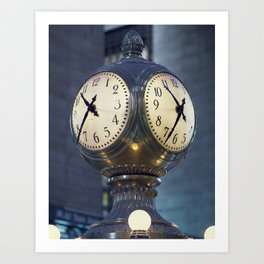Just in the Nick of Time Art Print