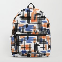 Watercolor abstraction. Backpack