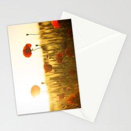 Sunset tulipe Stationery Cards
