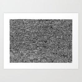 Polis Art Print