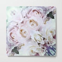 floral bnc Metal Print